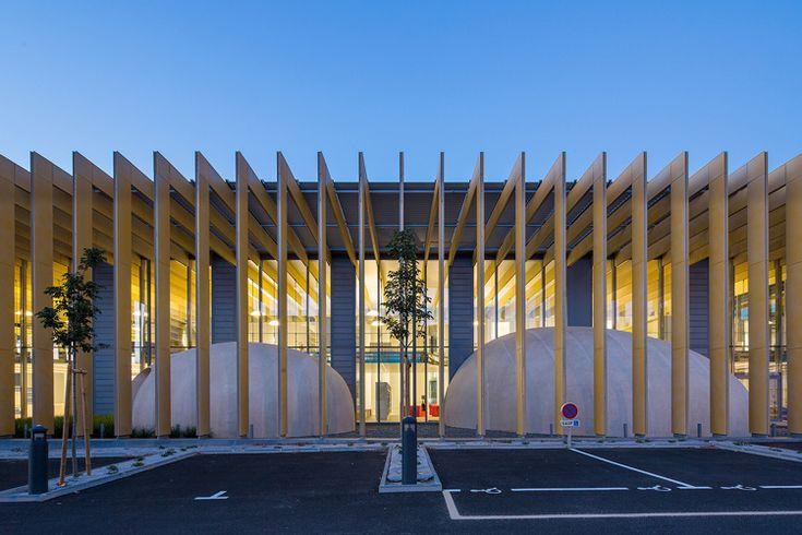 PONTIVY // Médiathèque et Archives Municipales - Opus 5 Architectes