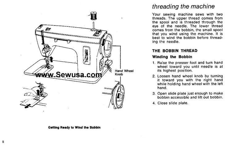 how to thread a singer sewing machine