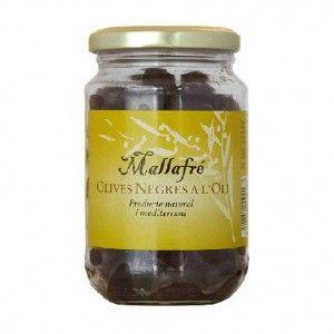 Aceitunas negras en Aceite - Mallafre 210 gr