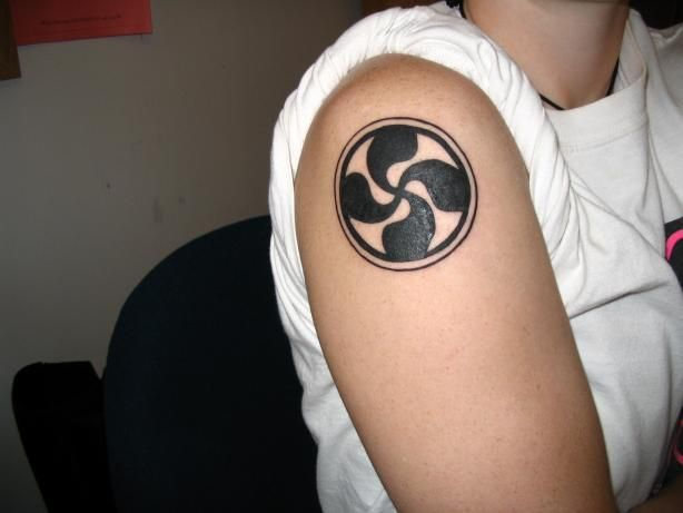 Basque Cross Tattoo