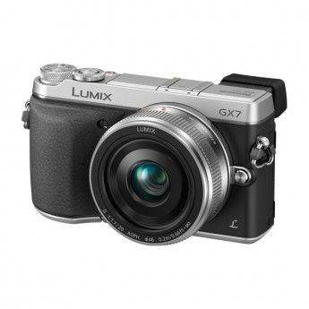 Panasonic DMC-GX7 avec Objectif LUMIX G 20mm F1.7 ASPH II, version anglaise (Argent) - Panasonic Cameras - Mirrorless System Cameras - Digital Cameras | ValueBasket BE