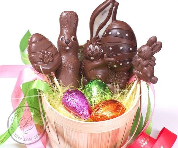 183 best hoppy easter allergy friendly craft ideas and recipes the dairy free chocolate easter bunny and more round up negle Gallery