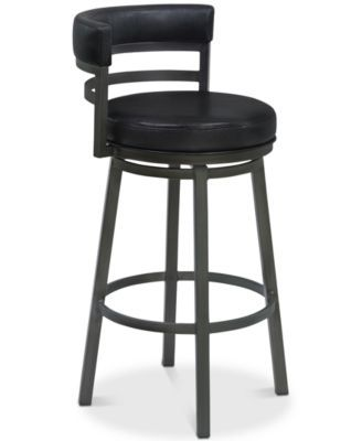 "Madrid 26"" Swivel Counter Stool, Quick Ship"