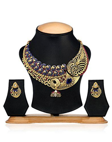 Amazing Indian Bollywood Gold Plated Blue Stone Party Wea... https://www.amazon.com/dp/B01N34UOL7/ref=cm_sw_r_pi_dp_x_oCDHyb93N84HY
