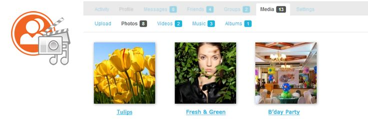 rtMedia for WordPress, BuddyPress and bbPress  Add albums, photo, audio/video encoding, privacy, sharing, front-end uploads & more. All this works on mobile/tablets devices.