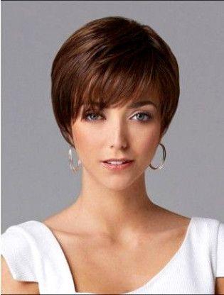 84ec0c14563ced Nice Short Straight Human Hair Wig #ShortPixieHaircuts   punk hair ...
