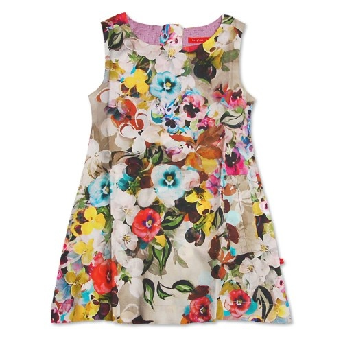 : Shape Floral, Flowers Dresses, Floral Frock, Flowers Power, Floral Shirts, Little Girls Dresses, Big Girls, Girls Style, Floral Dresses
