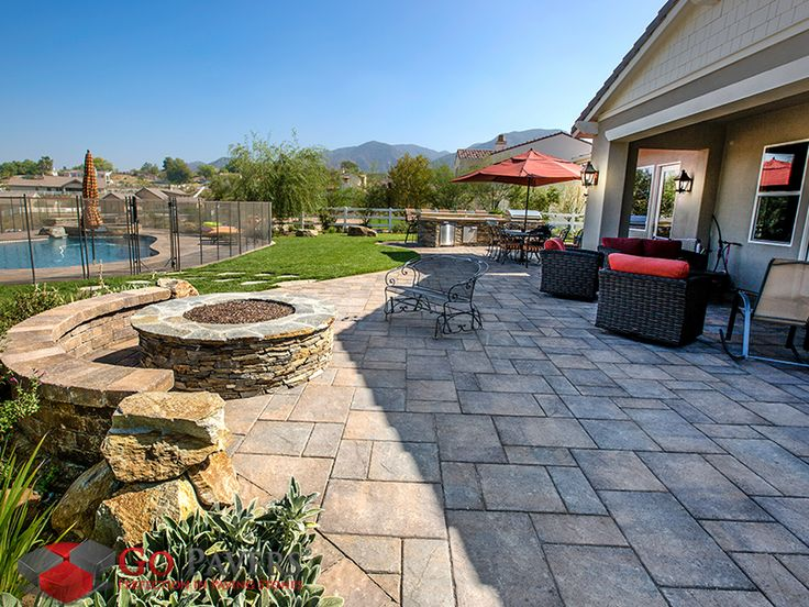 7 best patio projects go pavers images on pinterest patios