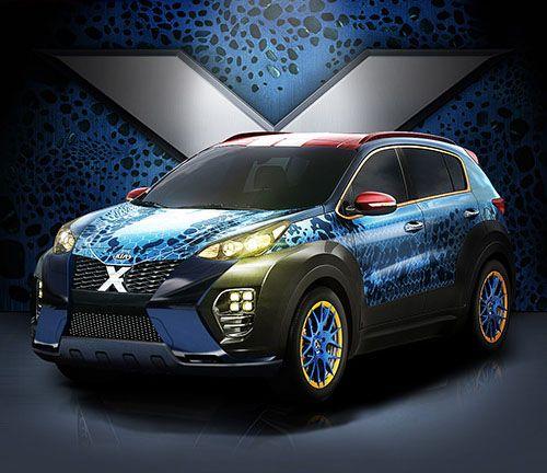 X-Men's Mystique inspired 2016 Kia Sportage