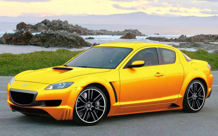 yellow mazda rx8 | Motor Sports | Pinterest | Cars, Yellow ...