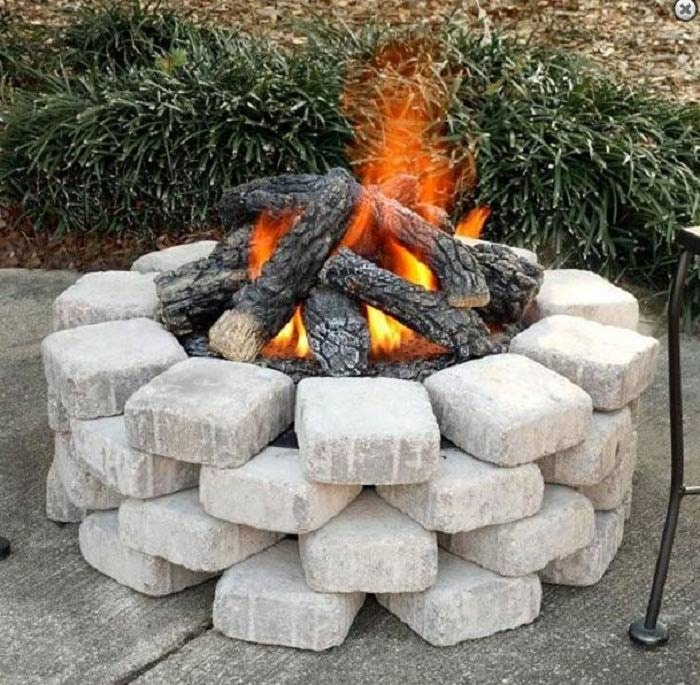fire pit in the ground - Google Search