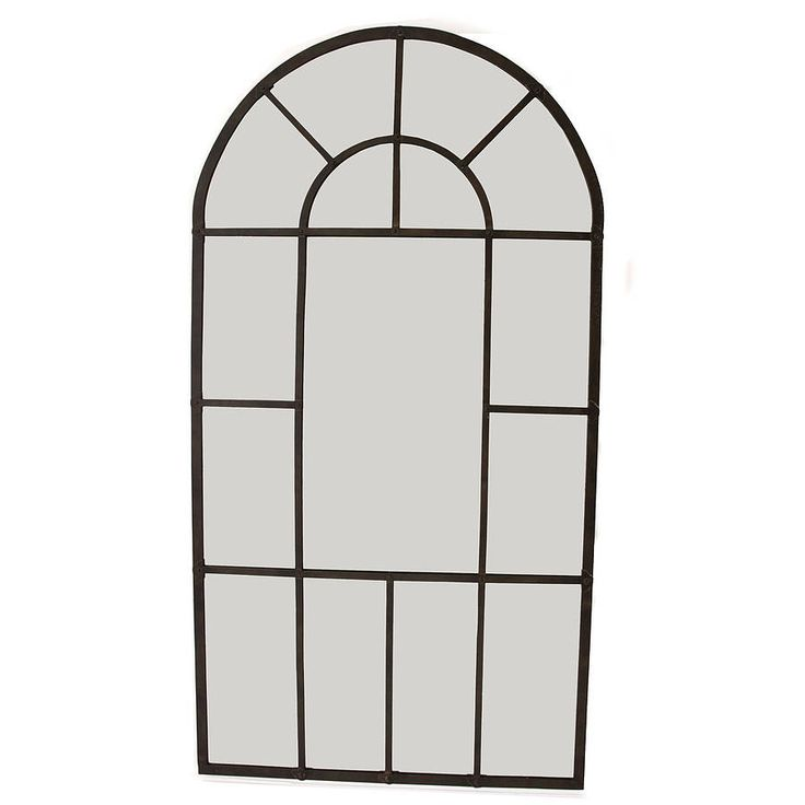 Aged Metal Arched Wall Mirror - notonthehighstreet - 15 Best Landing Mirrors Images On Pinterest