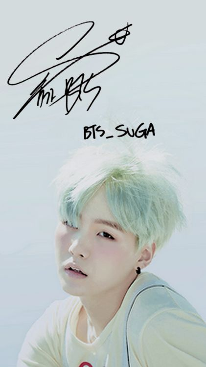 BTS Suga Wallpaper