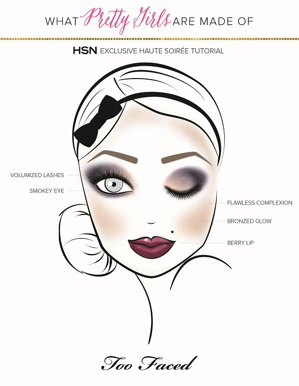 Add some serious drama and glamour to your holiday look with this step-by-step makeup tutorial from the experts at Too Faced on our blog! In just a few easy steps you can take your average evening look and elevate it with a smokey eye and some other pretty details for everything from your holiday work party to New Year's Eve!