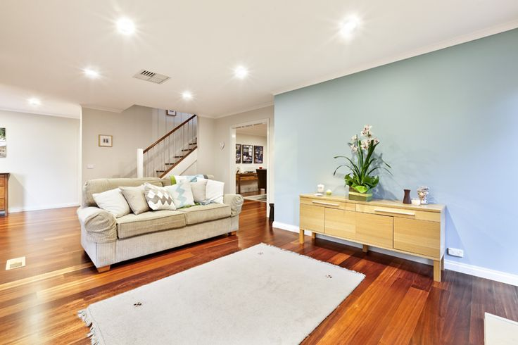 timber floors and contemporary styling