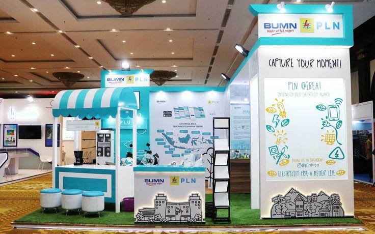 PT PLN (Persero) mempercayakan mandiricitra.com untuk mendesain dan produksi booth stand PT PLN (Persero) pada PameranKelistrikan & IBEA 2017.