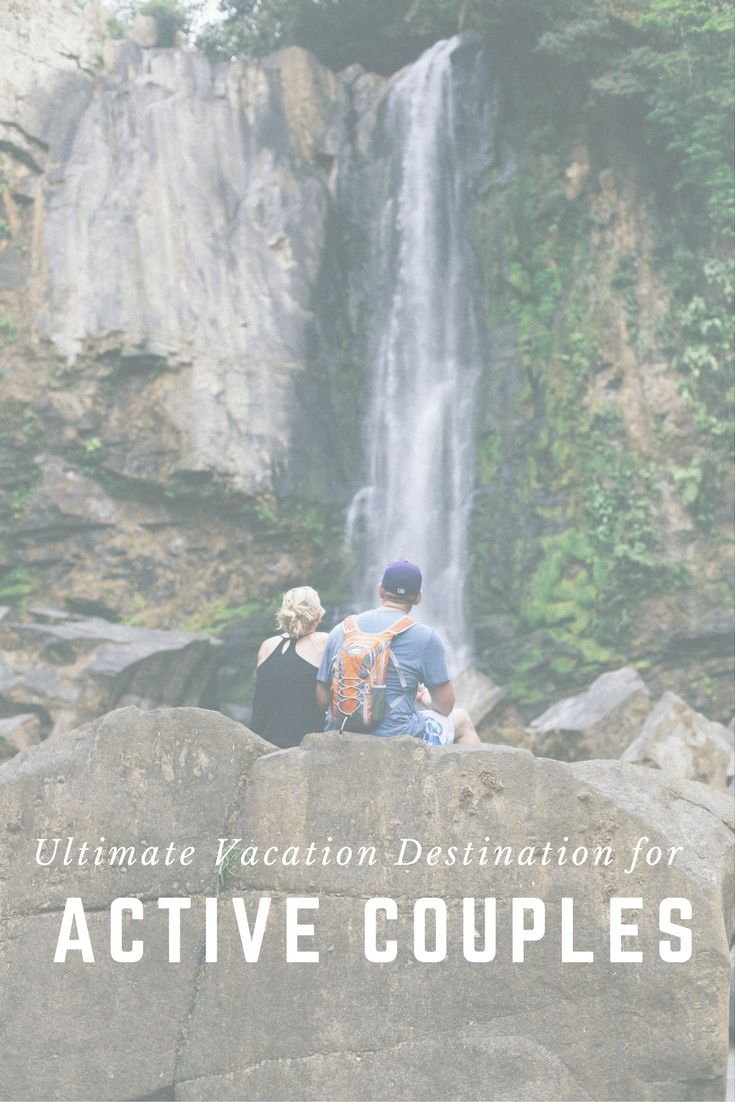 Calling active couples! Hike through the rainforest, explore waterfalls and more. #costarica #adventure #explore
