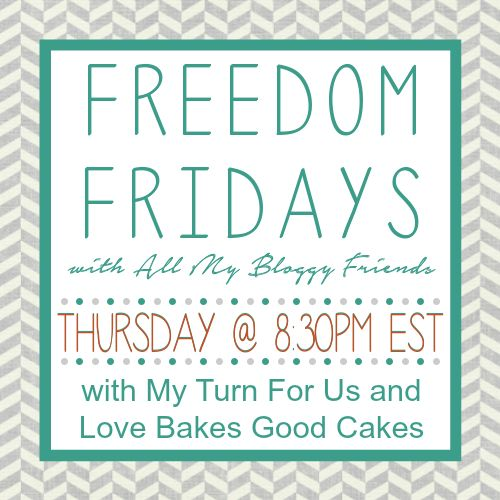 Week 135. This is an anything goes, no rules party! Link up your recipes, projects, crafts, printables ... and yes, you can even link up your giveaways!