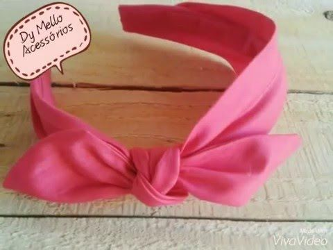 DIY turbante para bebê de 1 a 6 meses - YouTube