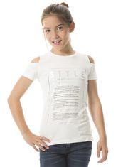Offset Short Sleeve T-shirt for Girls