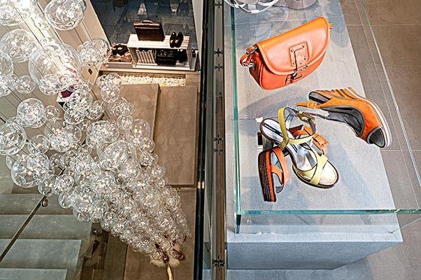 Déco boutique chaussures - Pixel Avenue