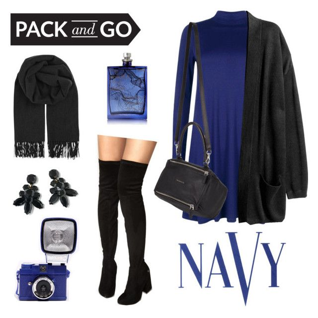 """Day To Night"" by sini-harju on Polyvore featuring Boohoo, Givenchy, COVERGIRL, The Beautiful Mind Series, J.Crew, BeckSöndergaard, contestentry and Packandgo"