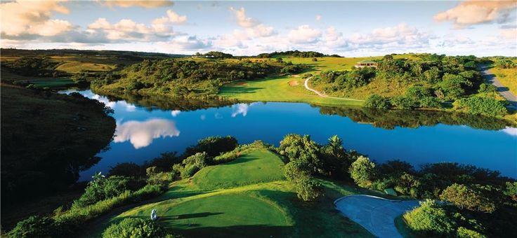 18th hole - Wild Coast Sun Country Club - locally known as Taipans Revenge