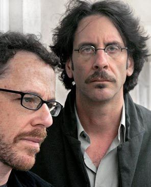 Filmmaker brothers Ethan, left, and Joel Coen