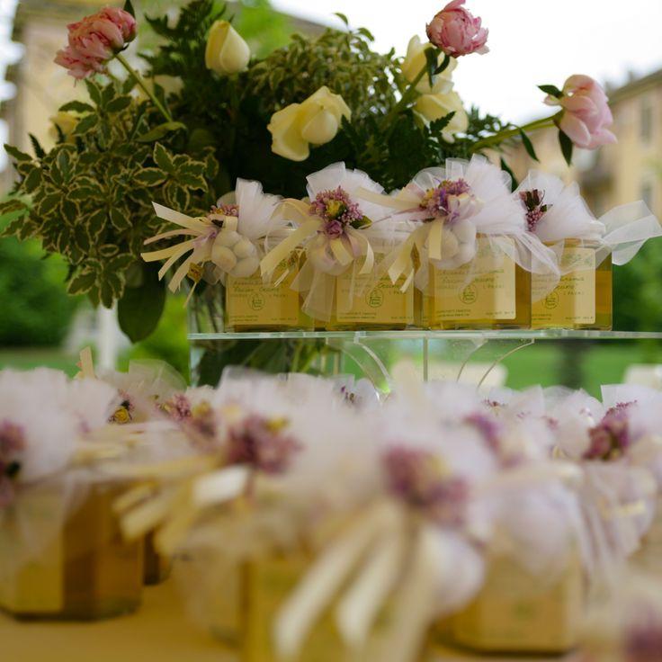 Bomboniere vasetti di miele