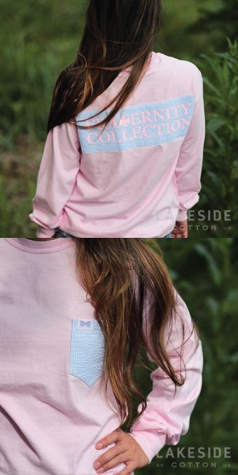 Fraternity Collection Light Pink Patchwork | Lakeside Cotton