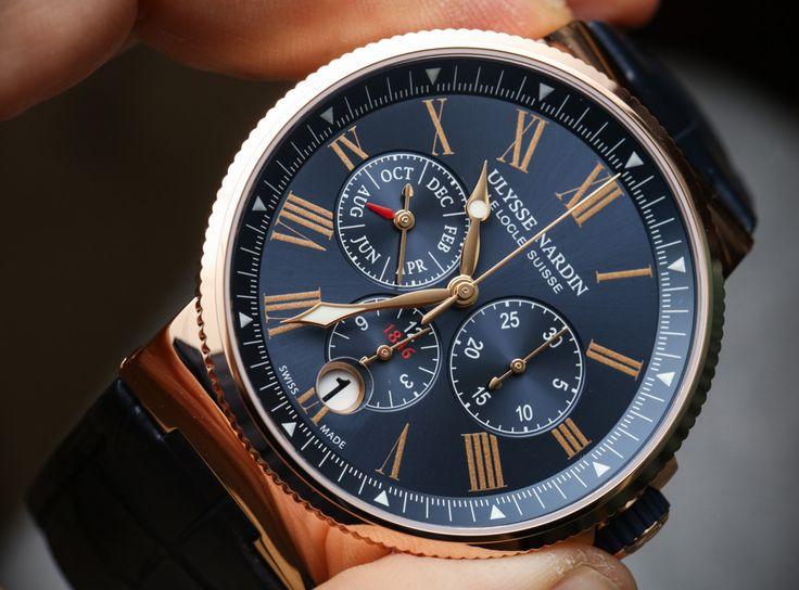 Ulysse Nardin Marine Chronograph Annual Calendar Watch Hands-On Hands-On