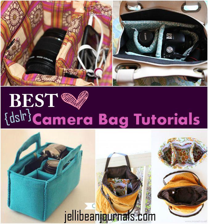 Save $ --->> DIY DSLR Camera Bag Tutorials #dslr #camerabag | JellibeanJournals.com