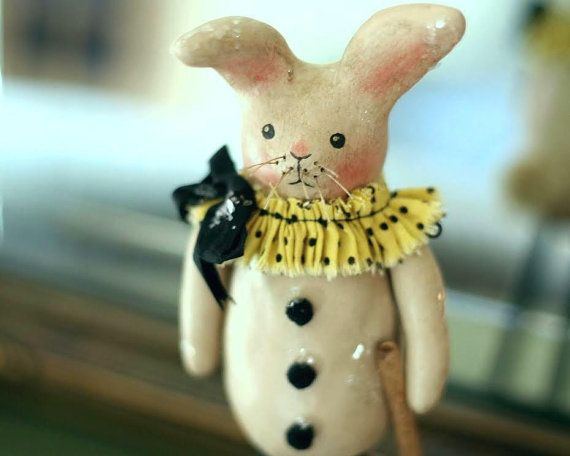 Tutorial for creating a paperclay rabbit~ by NancyMalay