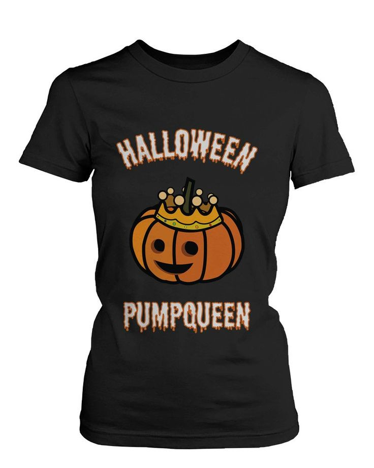 Fancy | Halloween PumpKing and PumpQueen Couple Tees Perfect for Horror Night