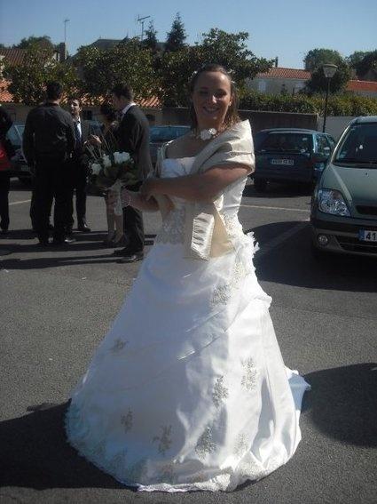 Robe de mariée modèle Phylandelle de chez tati mariage  Robes de ...