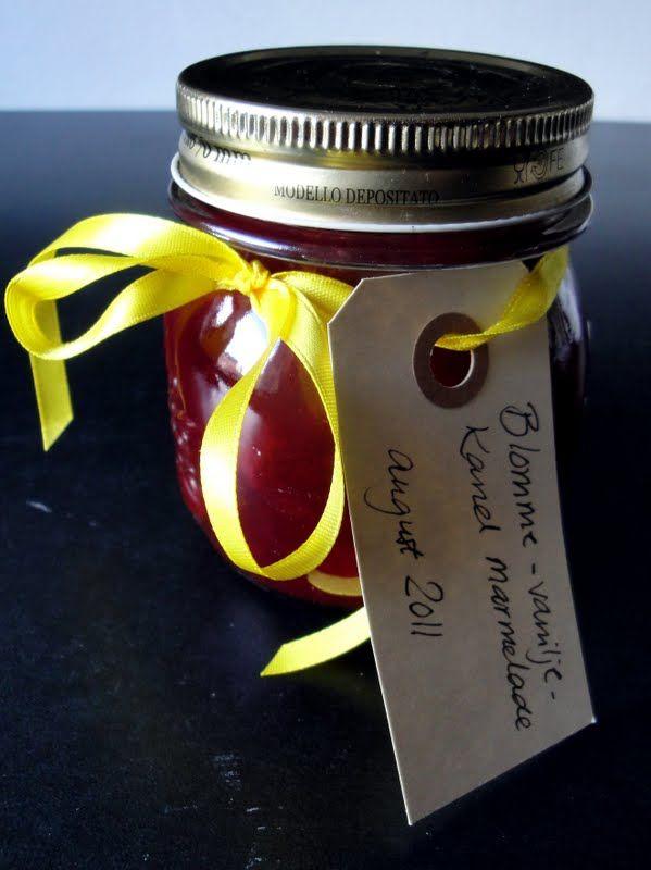 Matildenspitze: Blomme marmelade med kanel og vanilje