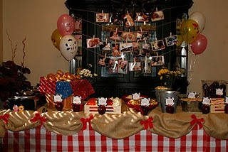 Lots of cute farm party ideas: Party Favors, Check Tablecloths, Barns Party, Barnyard Party, Picnics Check, Party Idea, Farms 1St, 1St Birthday Party, Farms Party