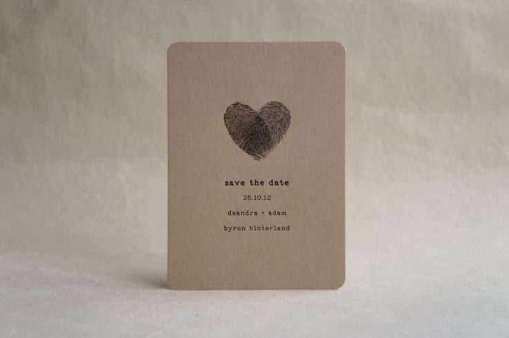 handmade save the date cards - Google Search