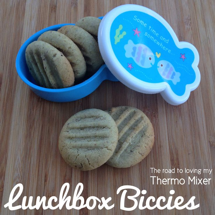 Yesterday I posted a sneak peak of a new recipe I was working on perfect for the lunchbox. These are my Lunchbox Biccies.