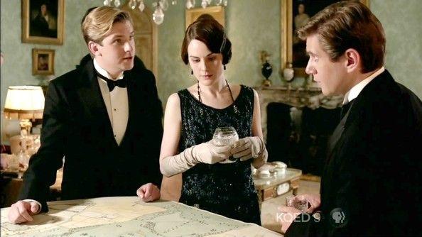 Michelle Dockery and Dan Stevens - Downton Abbey Season 3 Episode 7