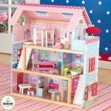 KidKraft Flot dukkehus med møbler - 65054