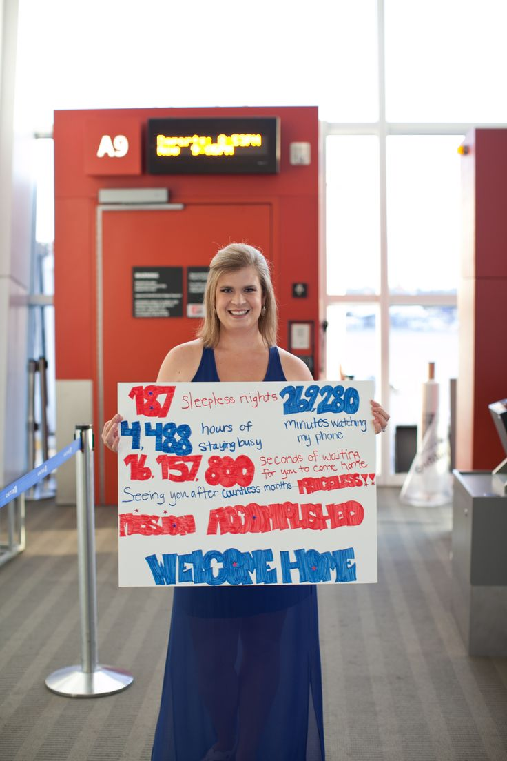 Welcome home military sign welcome home ideas for Welcome home troops decorations