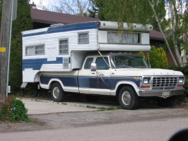 Have to put this in for my dad...he love his cab over truck camper