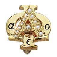 This is the style badge I have...I totally want one in white gold now, as my style has evolved....