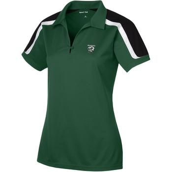 Sport-Tek Tricolor Shoulder Sport-Wick Custom Polo Shirt - Women's
