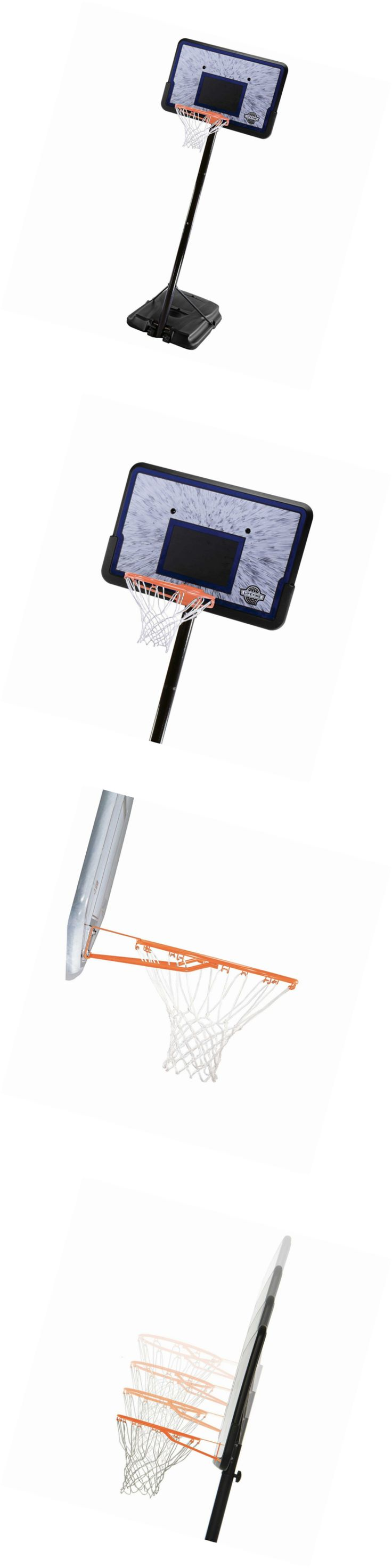 Backboard Systems 21196: Lifetime 1221 Pro Court Height Adjustable Portable Basketball System, 44 Inch Ba -> BUY IT NOW ONLY: $116 on eBay!
