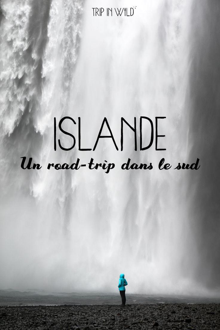Road-trip en Islande ♥ Carte, itinéraire, et les plus beaux endroits à ne pas manquer dans le sud de l'île !