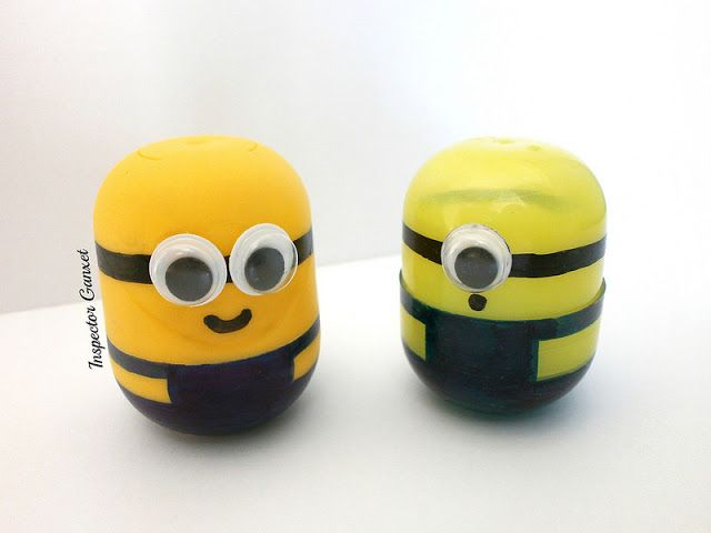 Making Minions with Kinder eggs | Inspector Ganxet