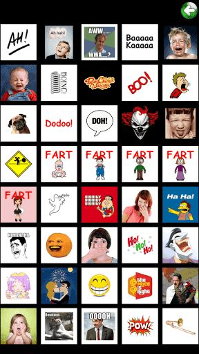 More than 500 sounds buttons !Super Sound Box( Buttons) is an original soundboard, it's a unique collection of sounds. This application will offer to you many funny and quickly sounds that you might use anytime. -Sound Categories-:  [Funny Sounds]: fart,burp,laugh,cry,laugh,ghost,scream,sneeze,kiss,snore,ufo,vomit,baby cry,yawn,Gangnan style......[Objects Sounds]: Air horn,Airplane,Alarm,Applause,Arrow,Balloon,Beep,Bells,Bicycle,Bowl,Bubbles,Bus,Camera,Car door,Car start,Carri...