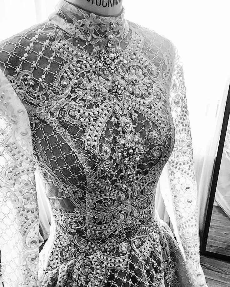 Couture poems rendered in lavish embellishment & precious lace!   FW 18 new Ersa Atelier bridal couture collection!